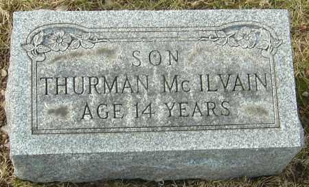 MCILVAIN, THURMAN - Franklin County, Ohio | THURMAN MCILVAIN - Ohio Gravestone Photos