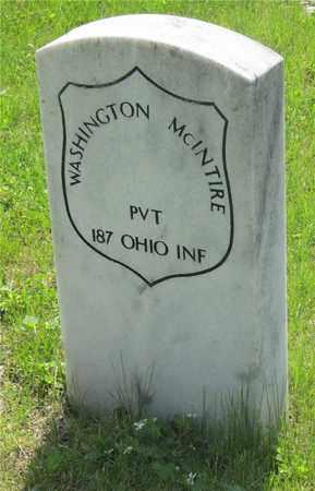 MCINTIRE, WASHINGTON - Franklin County, Ohio | WASHINGTON MCINTIRE - Ohio Gravestone Photos