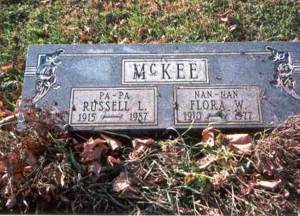 CHRYSLER MCKEE, FLORA W. - Franklin County, Ohio | FLORA W. CHRYSLER MCKEE - Ohio Gravestone Photos