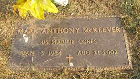 MCKEEVER, MARK ANTHONY - Franklin County, Ohio | MARK ANTHONY MCKEEVER - Ohio Gravestone Photos
