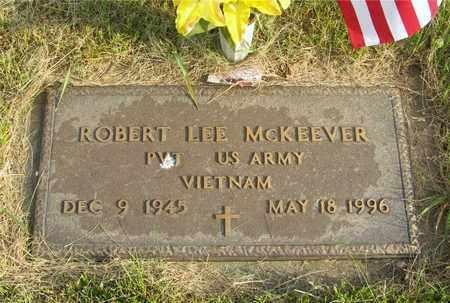 MCKEEVER, ROBERT LEE - Franklin County, Ohio | ROBERT LEE MCKEEVER - Ohio Gravestone Photos