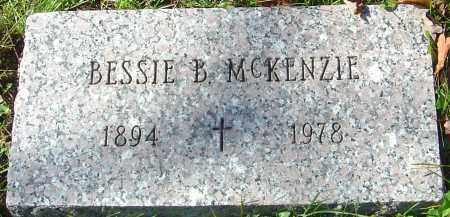 MCKENZIE, BESSIE B - Franklin County, Ohio   BESSIE B MCKENZIE - Ohio Gravestone Photos
