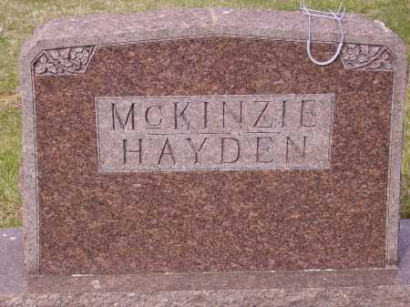 HAYDEN MCKINZIE FAMILY, MONUMENT - Franklin County, Ohio   MONUMENT HAYDEN MCKINZIE FAMILY - Ohio Gravestone Photos