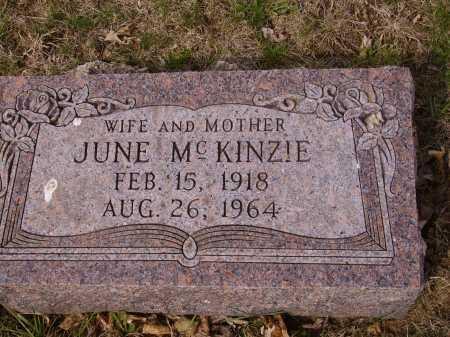 MCKINZIE, JUNE - Franklin County, Ohio   JUNE MCKINZIE - Ohio Gravestone Photos