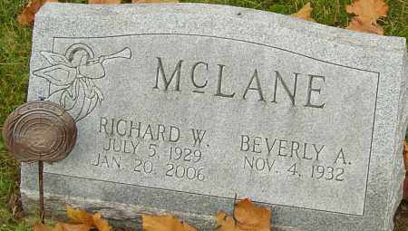 MCLANE, RICHARD - Franklin County, Ohio   RICHARD MCLANE - Ohio Gravestone Photos
