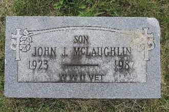 MCLAUGHLIN, JOHN J. - Franklin County, Ohio   JOHN J. MCLAUGHLIN - Ohio Gravestone Photos