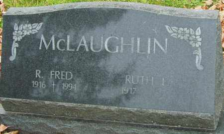 MCLAUGHLIN, R FRED - Franklin County, Ohio | R FRED MCLAUGHLIN - Ohio Gravestone Photos