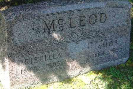 MULLEN MCLEOD, PRISCILLA - Franklin County, Ohio | PRISCILLA MULLEN MCLEOD - Ohio Gravestone Photos