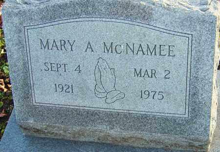MCNAMEE, MARY - Franklin County, Ohio | MARY MCNAMEE - Ohio Gravestone Photos