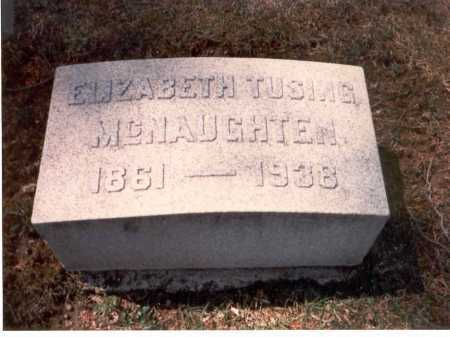 MCNAUGHTEN, ELIZABETH - Franklin County, Ohio | ELIZABETH MCNAUGHTEN - Ohio Gravestone Photos