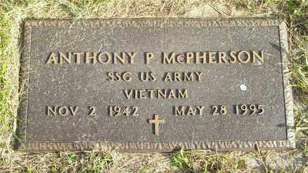 MCPHERSON, ANTHONY P. - Franklin County, Ohio | ANTHONY P. MCPHERSON - Ohio Gravestone Photos