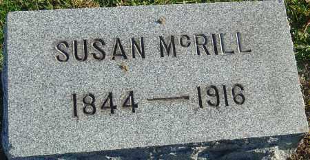 MCRILL, SUSAN - Franklin County, Ohio | SUSAN MCRILL - Ohio Gravestone Photos