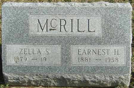 MCRILL, EARNEST H - Franklin County, Ohio | EARNEST H MCRILL - Ohio Gravestone Photos
