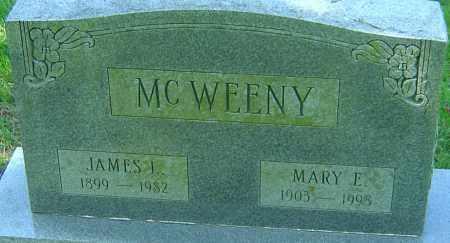 MCWEENY, JAMES I - Franklin County, Ohio | JAMES I MCWEENY - Ohio Gravestone Photos