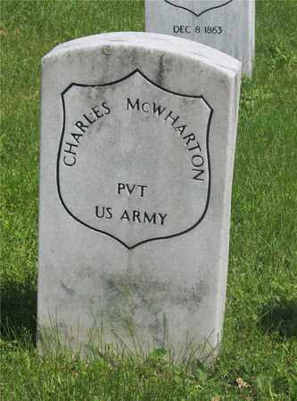 MCWHARTON, CHARLES - Franklin County, Ohio   CHARLES MCWHARTON - Ohio Gravestone Photos