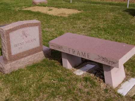 FRAME MEADE FAMILY GROUP, MONUMENT - Franklin County, Ohio | MONUMENT FRAME MEADE FAMILY GROUP - Ohio Gravestone Photos