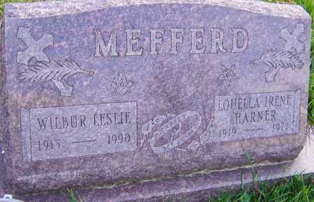 HARNER MEFFERD, LOUELLA - Franklin County, Ohio | LOUELLA HARNER MEFFERD - Ohio Gravestone Photos
