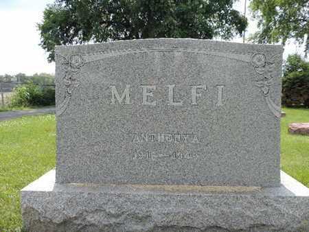 MELFI, ANTHONYA - Franklin County, Ohio | ANTHONYA MELFI - Ohio Gravestone Photos