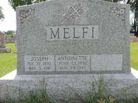 MELFI, ANTOINETTE - Franklin County, Ohio   ANTOINETTE MELFI - Ohio Gravestone Photos