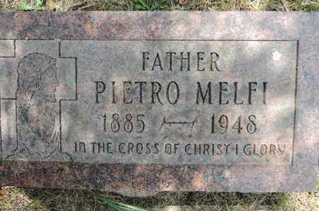 MELFI, PIETRO - Franklin County, Ohio | PIETRO MELFI - Ohio Gravestone Photos