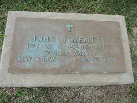 MELLETT, JOHN J. - Franklin County, Ohio | JOHN J. MELLETT - Ohio Gravestone Photos