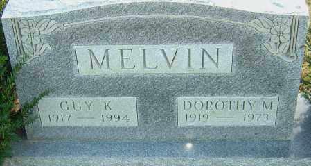 MELVIN, DOROTHY - Franklin County, Ohio | DOROTHY MELVIN - Ohio Gravestone Photos