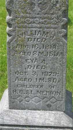 MERION, WILLIAM J. - Franklin County, Ohio | WILLIAM J. MERION - Ohio Gravestone Photos