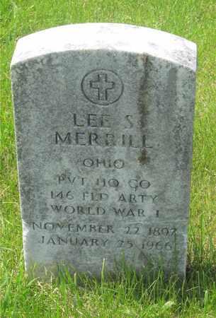 MERRILL, LEE S. - Franklin County, Ohio   LEE S. MERRILL - Ohio Gravestone Photos