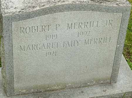 MERRILL, ROBERT - Franklin County, Ohio | ROBERT MERRILL - Ohio Gravestone Photos