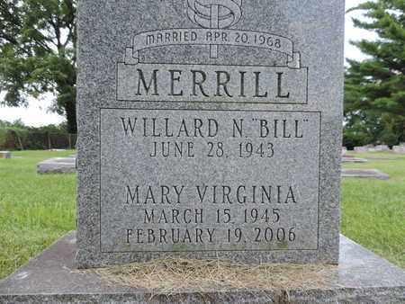 MERRILL, WILLARD N. - Franklin County, Ohio | WILLARD N. MERRILL - Ohio Gravestone Photos
