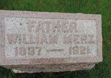 MERZ, WILLIAM - Franklin County, Ohio | WILLIAM MERZ - Ohio Gravestone Photos