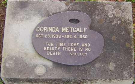 METCALF, DORINDA - Franklin County, Ohio | DORINDA METCALF - Ohio Gravestone Photos