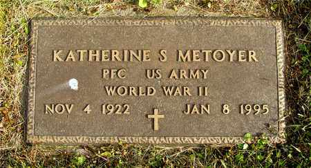 METOYER, KATHERINE S. - Franklin County, Ohio | KATHERINE S. METOYER - Ohio Gravestone Photos