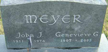 MEYER, GENEVIEVE - Franklin County, Ohio | GENEVIEVE MEYER - Ohio Gravestone Photos
