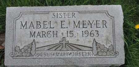 MEYER, MABEL E - Franklin County, Ohio | MABEL E MEYER - Ohio Gravestone Photos