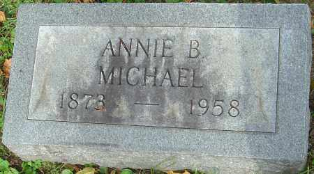 MICHAEL, ANNIE B - Franklin County, Ohio | ANNIE B MICHAEL - Ohio Gravestone Photos