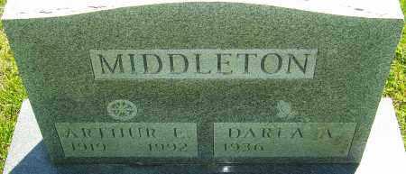 MIDDLETON, ARTHUR E - Franklin County, Ohio   ARTHUR E MIDDLETON - Ohio Gravestone Photos