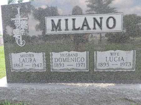 MILANO, LUCIA - Franklin County, Ohio | LUCIA MILANO - Ohio Gravestone Photos
