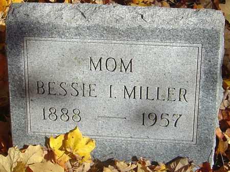 MILLER, BESSIE I - Franklin County, Ohio   BESSIE I MILLER - Ohio Gravestone Photos