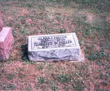 MILLER, CLARENCE W. - Franklin County, Ohio | CLARENCE W. MILLER - Ohio Gravestone Photos