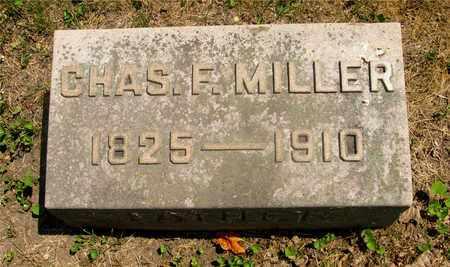 MILLER, CHAS F. - Franklin County, Ohio | CHAS F. MILLER - Ohio Gravestone Photos