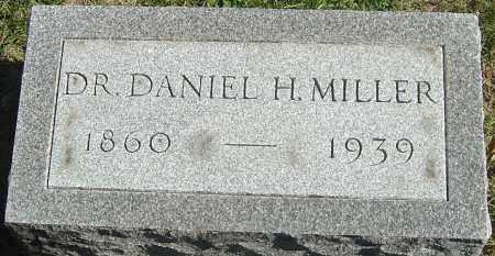 MILLER, DANIEL H - Franklin County, Ohio | DANIEL H MILLER - Ohio Gravestone Photos