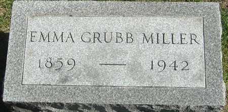 MILLER, EMMA - Franklin County, Ohio | EMMA MILLER - Ohio Gravestone Photos