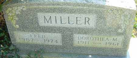 MILLER, DOROTHEA M - Franklin County, Ohio   DOROTHEA M MILLER - Ohio Gravestone Photos