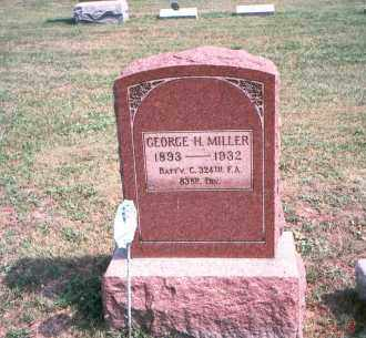 MILLER, GEORGE H. - Franklin County, Ohio | GEORGE H. MILLER - Ohio Gravestone Photos