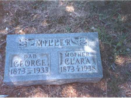 MILLER, CLARA - Franklin County, Ohio   CLARA MILLER - Ohio Gravestone Photos