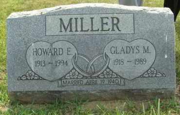 JUSTUS MILLER, GLADYS - Franklin County, Ohio | GLADYS JUSTUS MILLER - Ohio Gravestone Photos