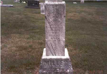 MILLER, HATTIE D. - Franklin County, Ohio | HATTIE D. MILLER - Ohio Gravestone Photos