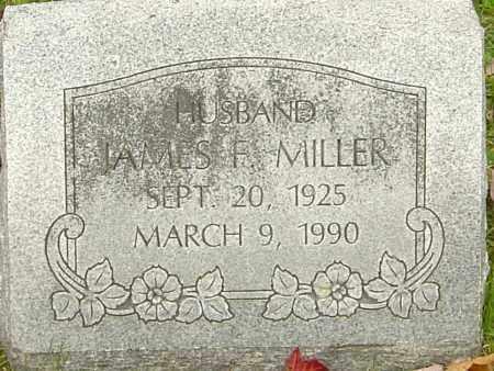 MILLER, JAMES F - Franklin County, Ohio   JAMES F MILLER - Ohio Gravestone Photos
