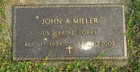 MILLER, JOHN A. - Franklin County, Ohio | JOHN A. MILLER - Ohio Gravestone Photos
